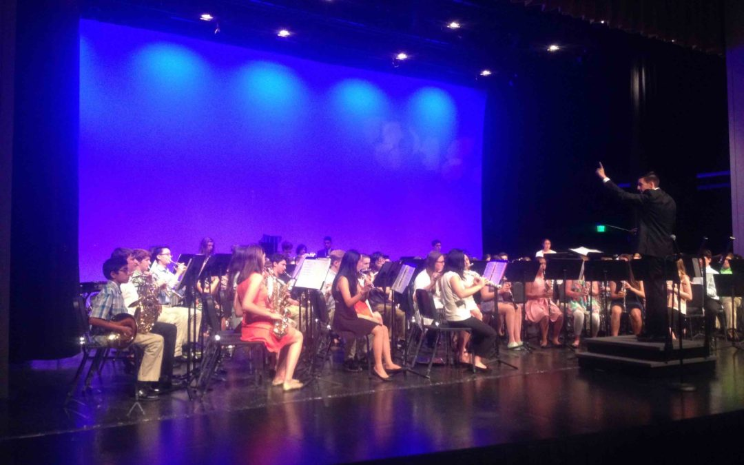 CMS Band Performs Two World Premier Pieces