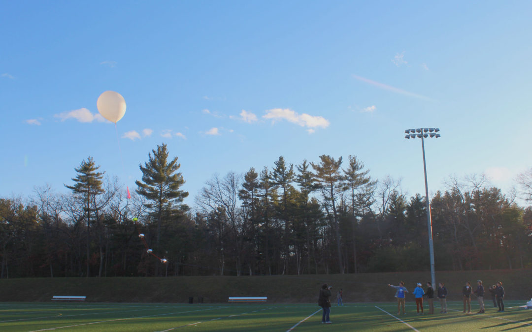 CCHS Students Launch a Weather Balloon into the Stratosphere